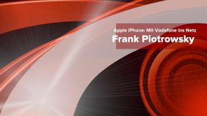 Apple iPhone Vodafone