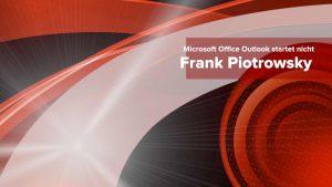 Microsoft Office Outlook startet nicht